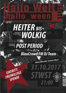 Plakat Hallo Welt 2017